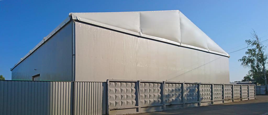 Теплий склад дозволяє зберегти до 50% енергії на опалення