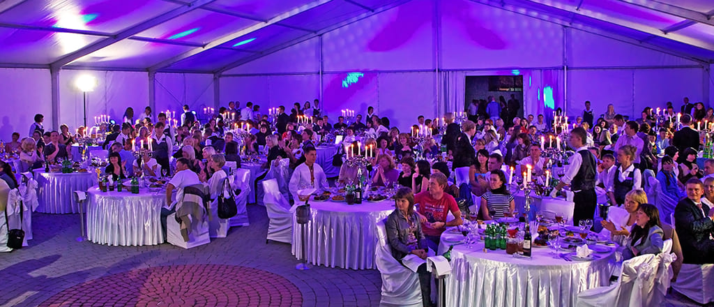 B-TENTS series hall, corporate party