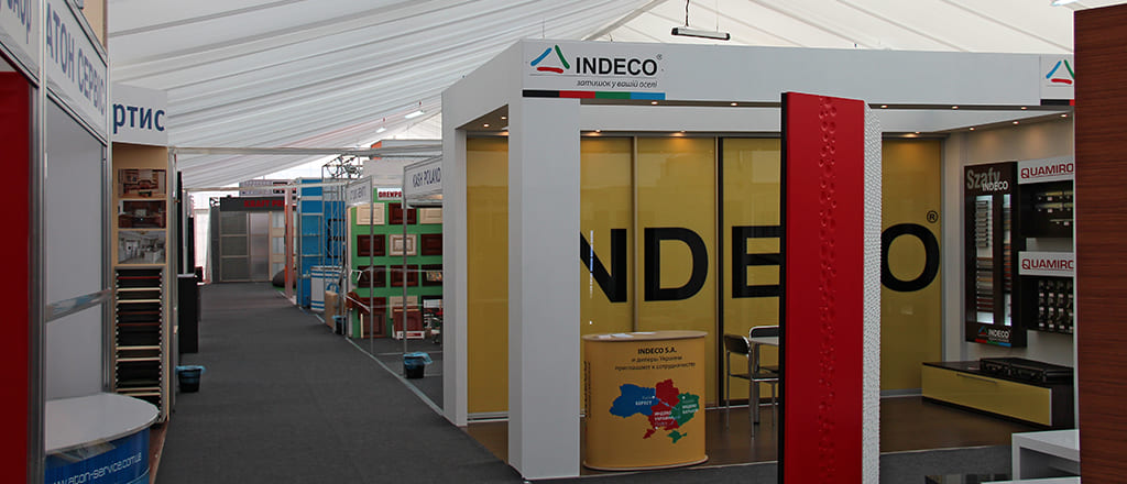 Temporary tent for an exhibition – it is convenient and  economical