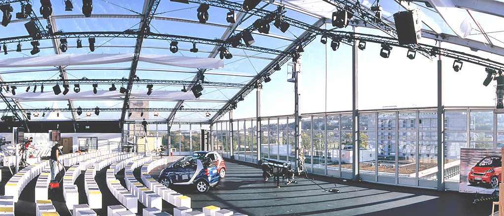 Presentation of new cars in the BIG tents