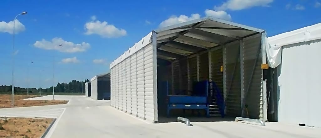 Додаткові приміщення для зберігання навантажувальної техники