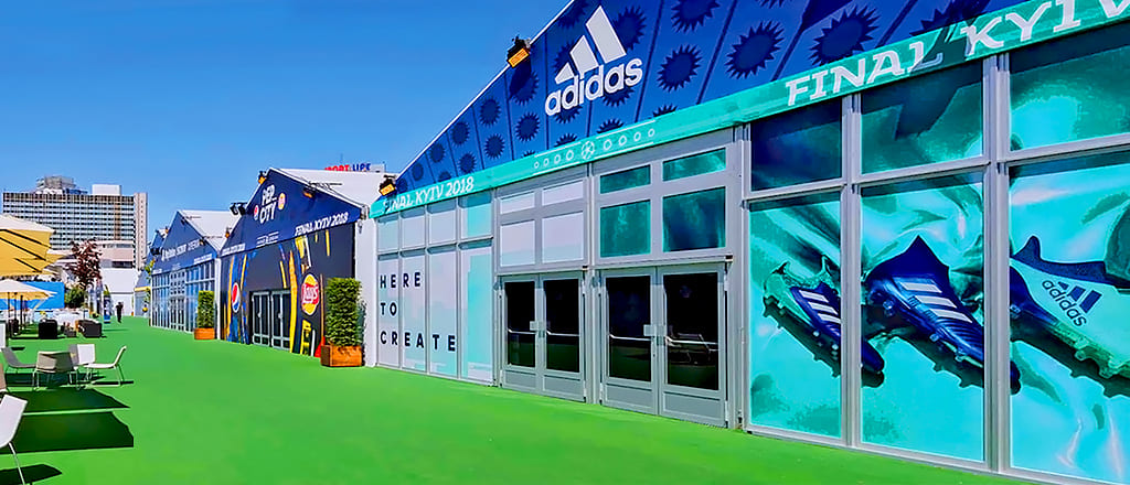 Оформление брендов спортивных товаров
