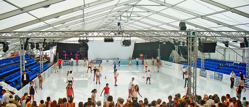 Искусственная ледовая арена, Украина